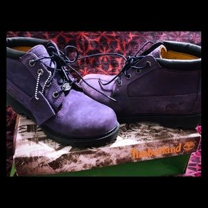 Purple Timberlands 7m